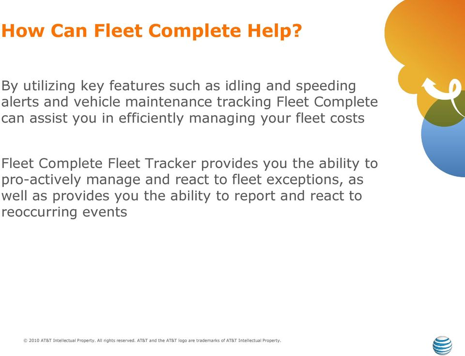 Fleet Complete can assist you in efficiently managing your fleet costs Fleet Complete Fleet