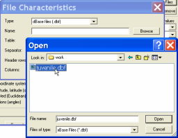 OK) and the file name will appear in all the input fields in the user interface, as shown in Figure 4. Figure 3. Select input file (Primary File) Figure 4.