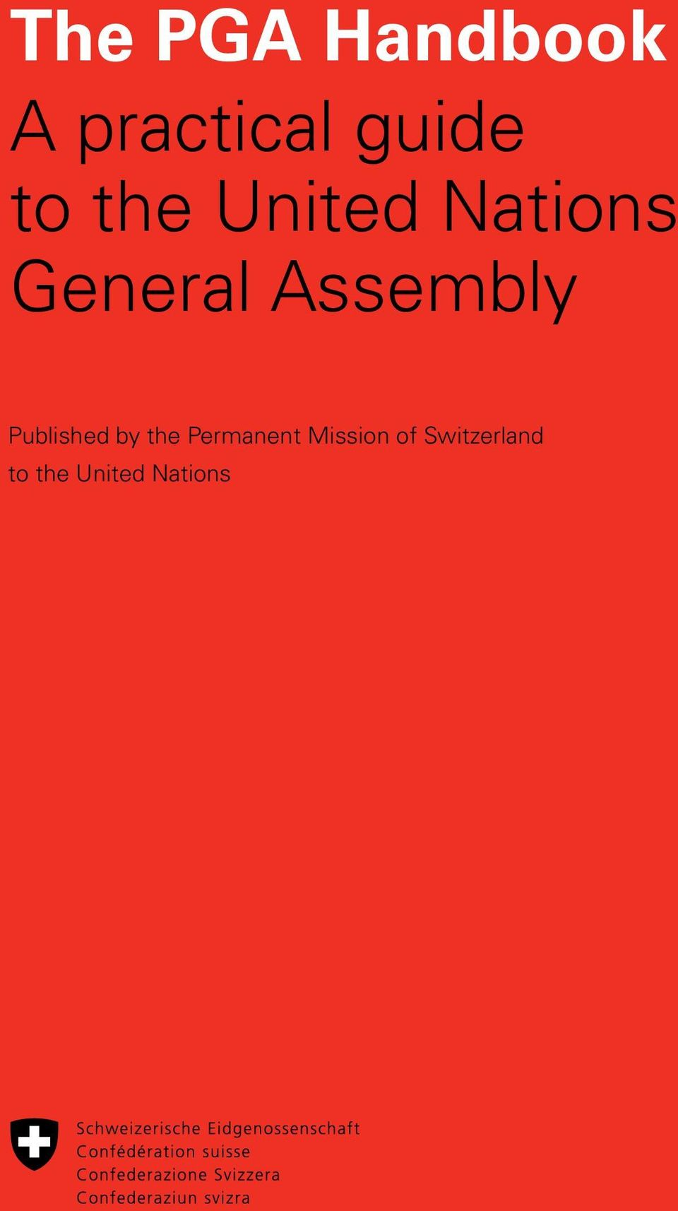 Assembly Published by the Permanent