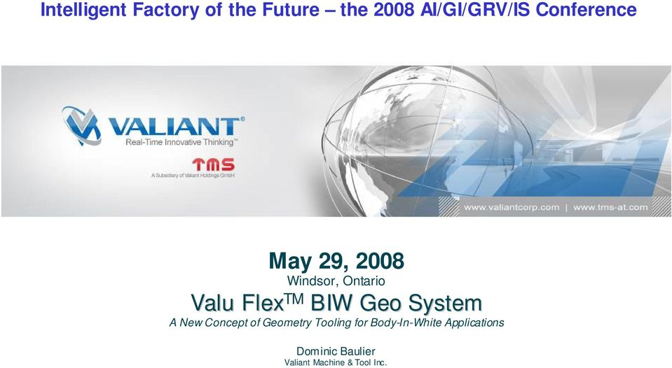 Geo System A New Concept of Geometry Tooling for
