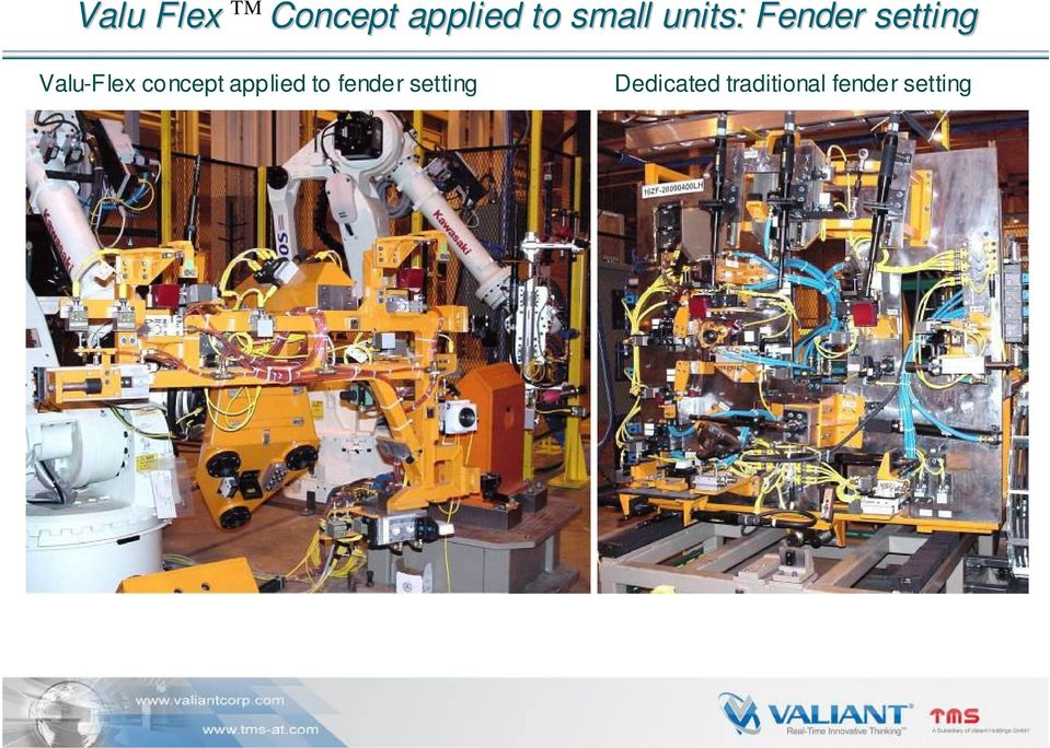 Valu-Flex concept applied to