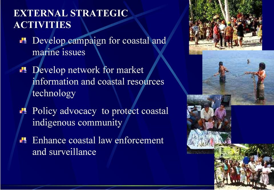 coastal resources technology Policy advocacy to protect coastal