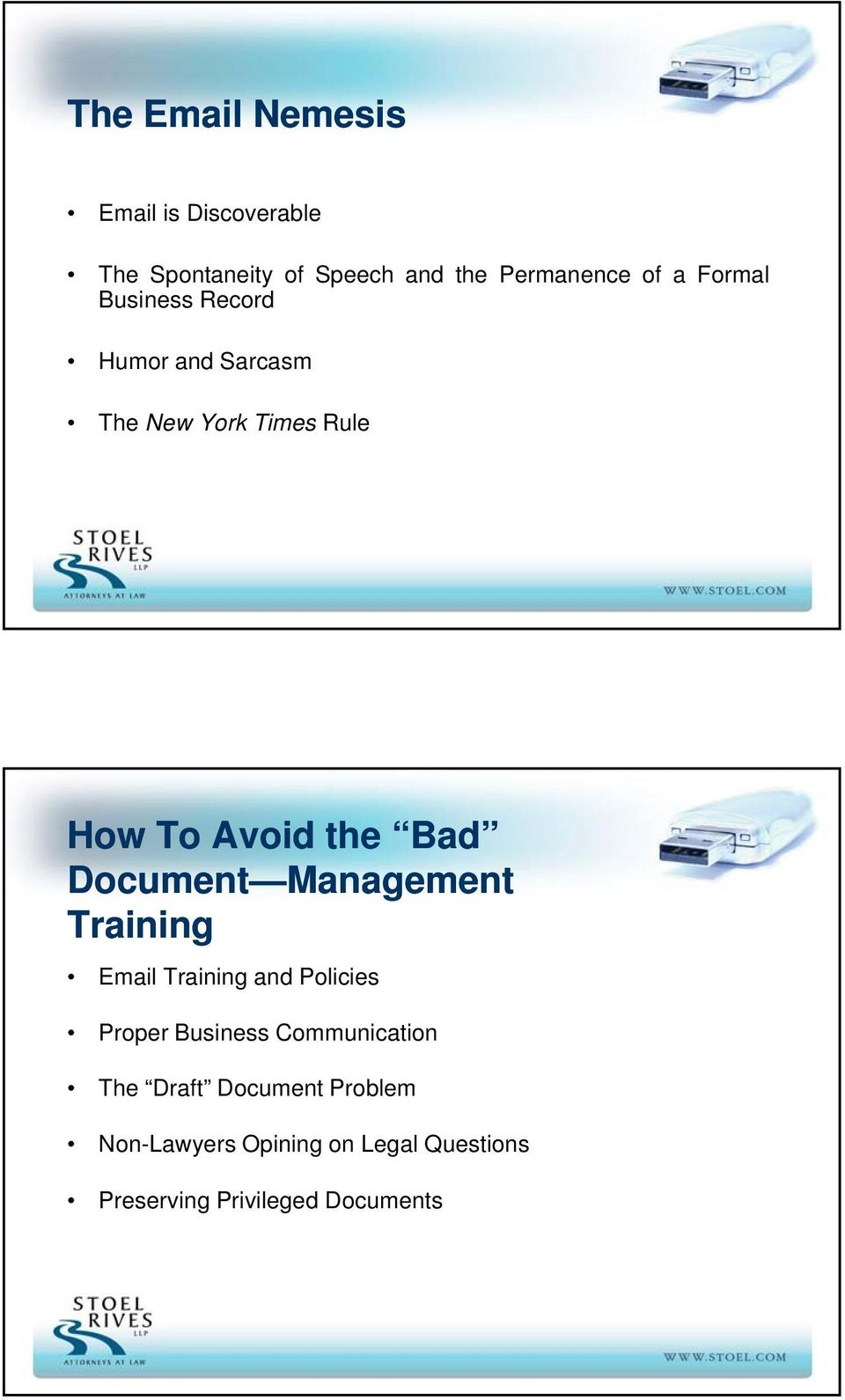 Document Management Training Email Training and Policies Proper Business Communication