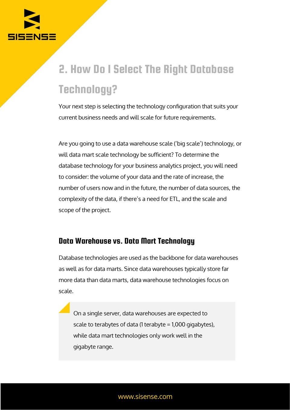 Whitepaper  4 Steps to Successfully Evaluating Business
