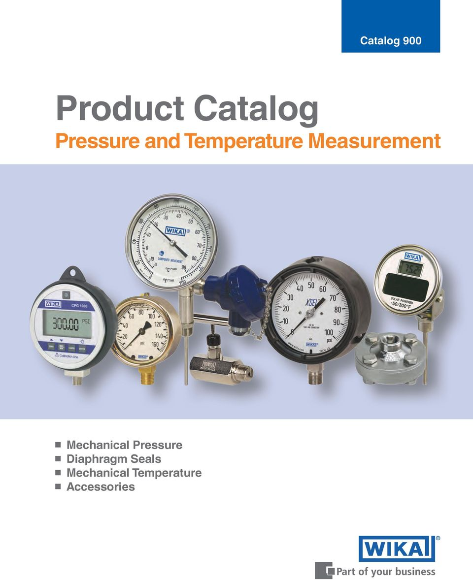 Measurement Mechanical Pressure