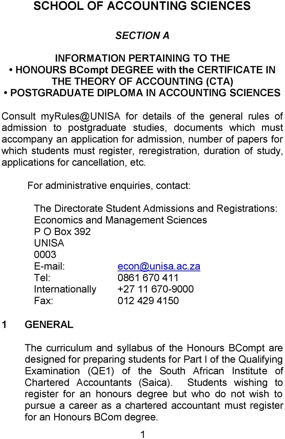 reregistration, duration of study, applications for cancellation, etc.