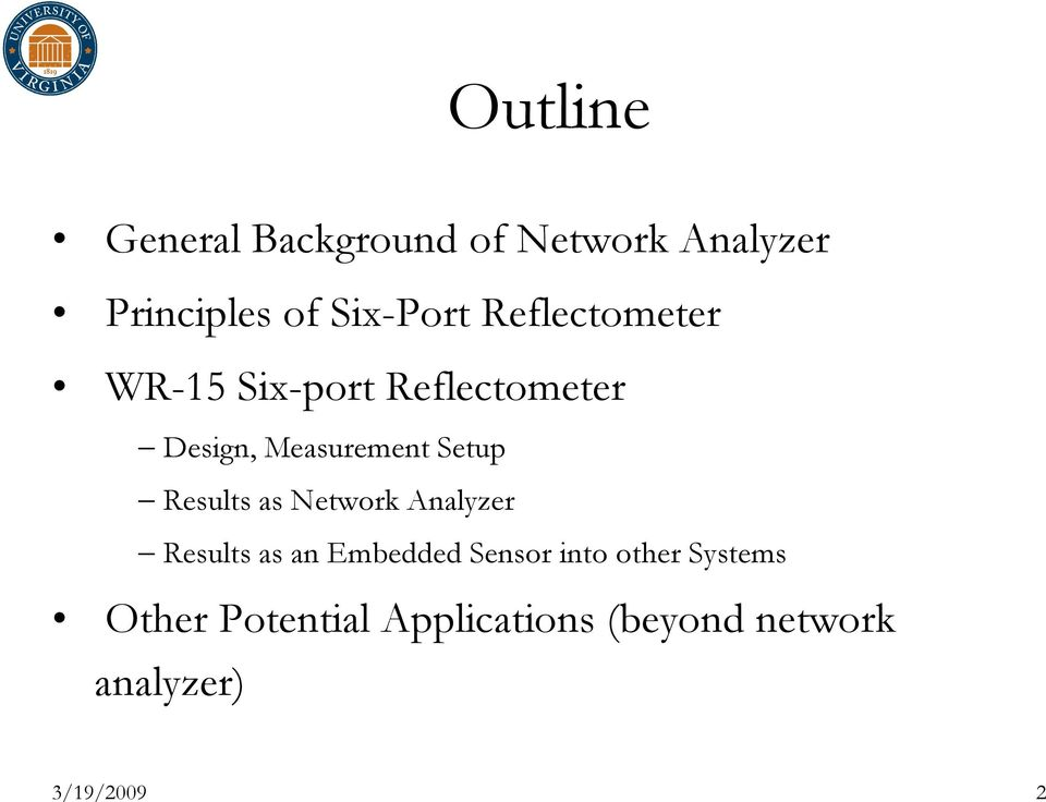 Results as Network Analyzer Results as an Embedded Sensor into other