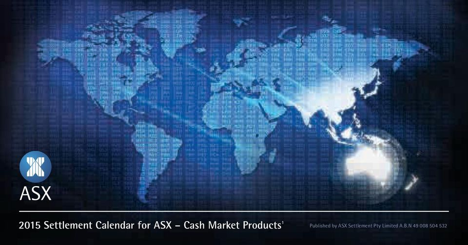 Published by ASX Pty