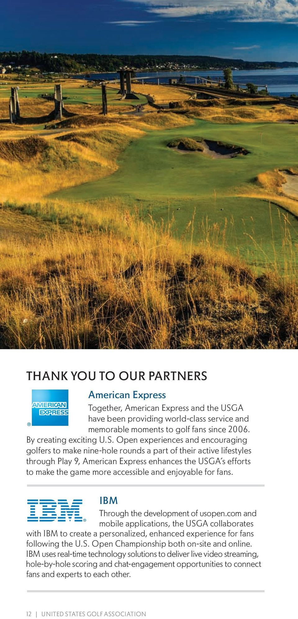 A have been providing world-class service and memorable moments to golf fans since 2006. By creating exciting U.S.