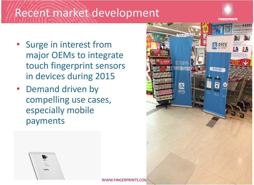 sensors in devices during 2015 Demand driven