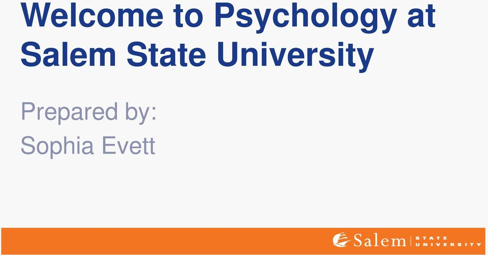 the social psychology of the salem Research area: psychological science - social dr stephens is currently serving as dean of graduate studies, and will not be accepting new students this year.