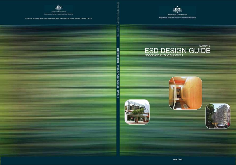 ESD DESIGN GUIDE OFFICE AND PUBLIC BUILDINGS MAY 2007 EDITION 3
