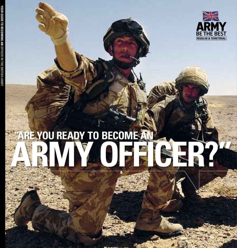 british army ARE YOU