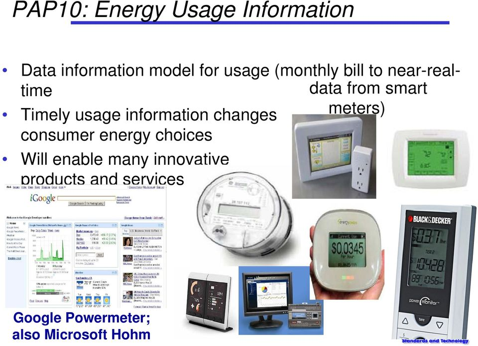information changes consumer energy choices meters) Will enable