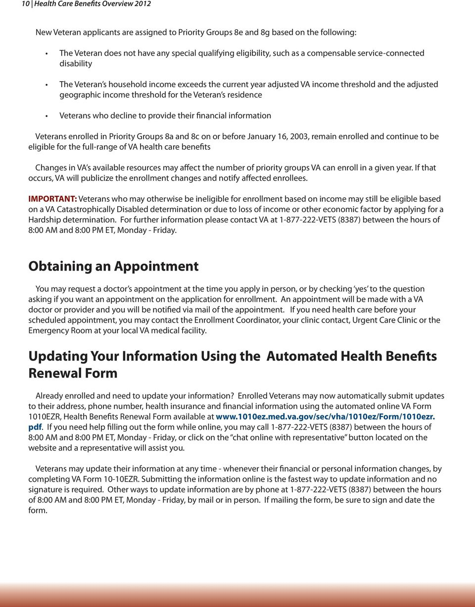 Health Care Benefits Overview - PDF