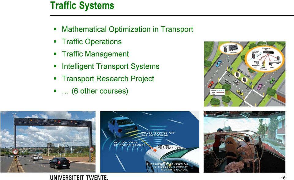 Management Intelligent Transport Systems
