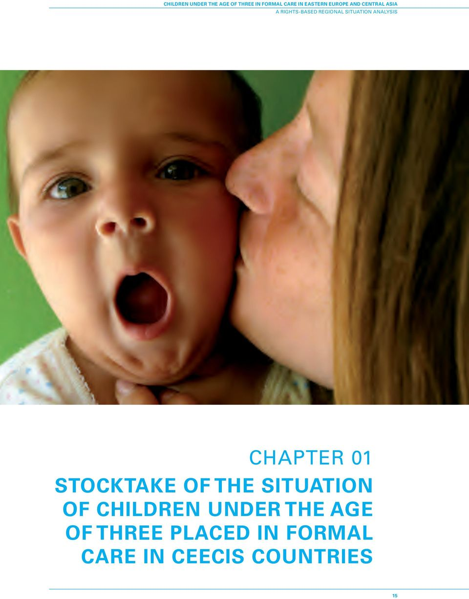ANALYSIS CHAPTER STOCKTAKE OF THE SITUATION OF CHILDREN