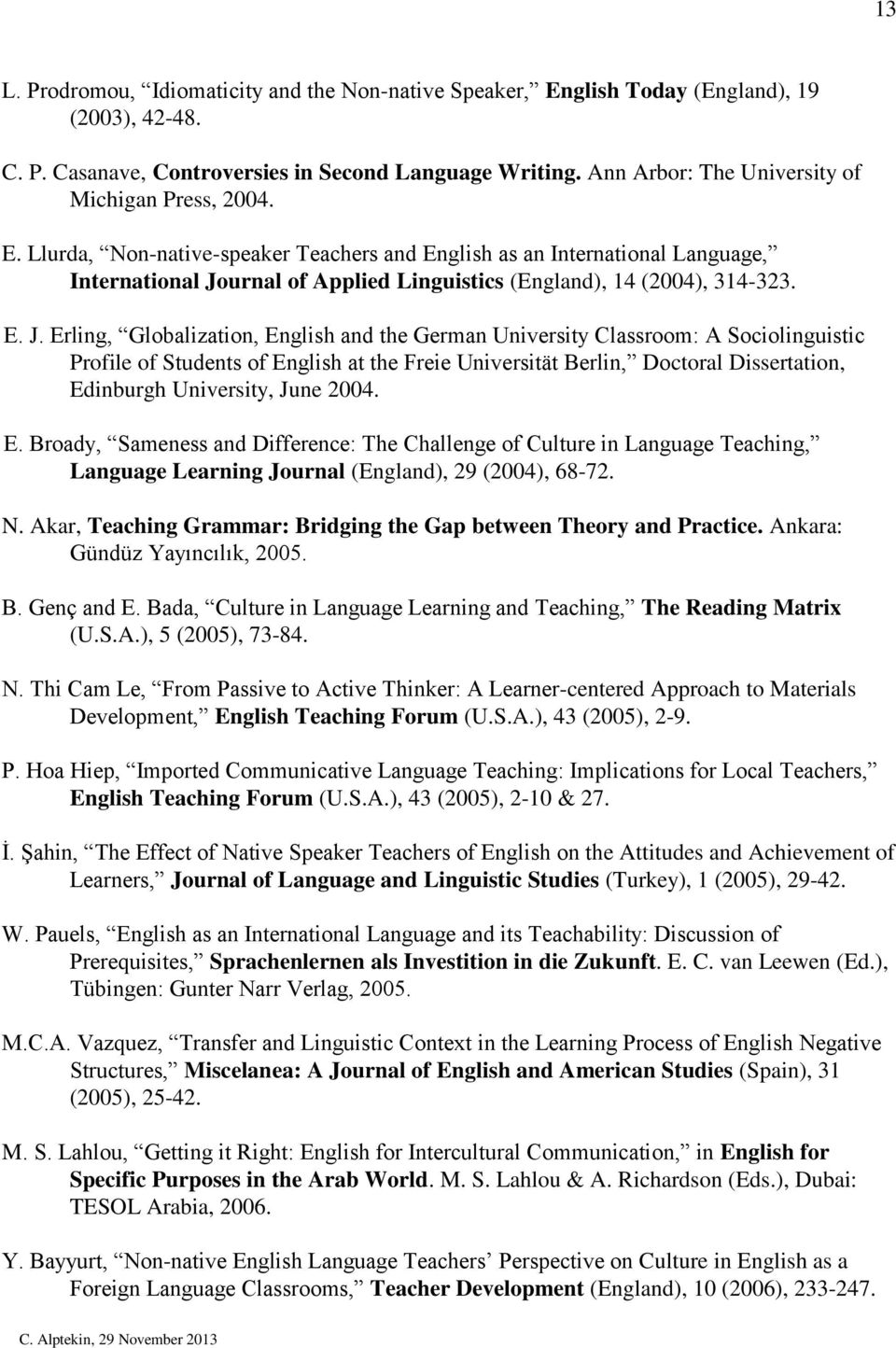 Applied Linguistics   ELT MA  PGDip  PGCert   St Mary s University Etusivu