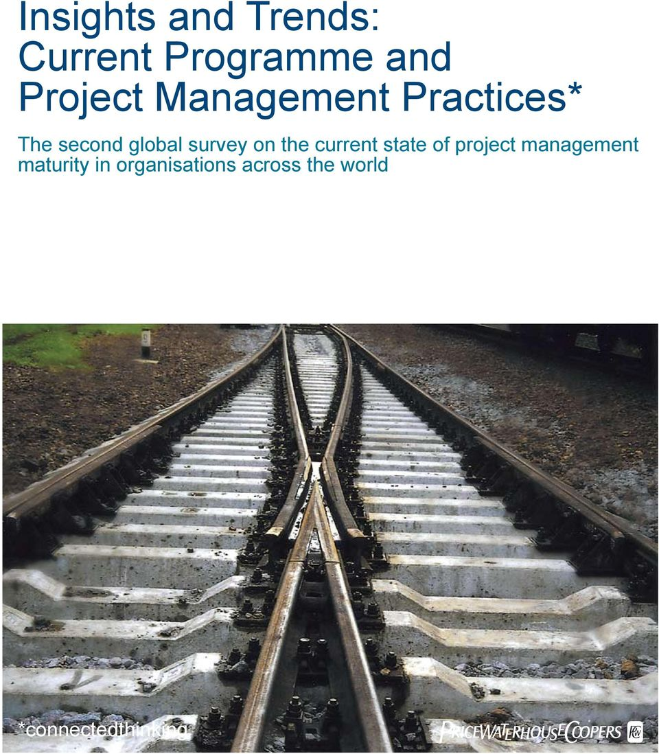 the current state of project management maturity
