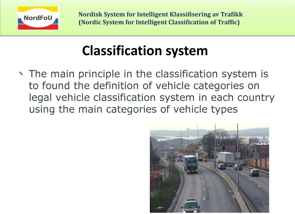 vehicle categories on legal vehicle classification