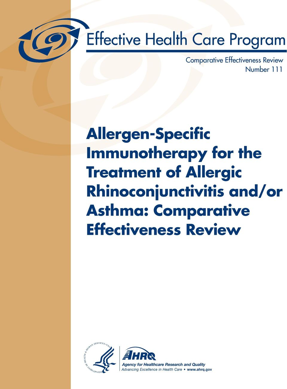 Treatment of Allergic Rhinoconjunctivitis
