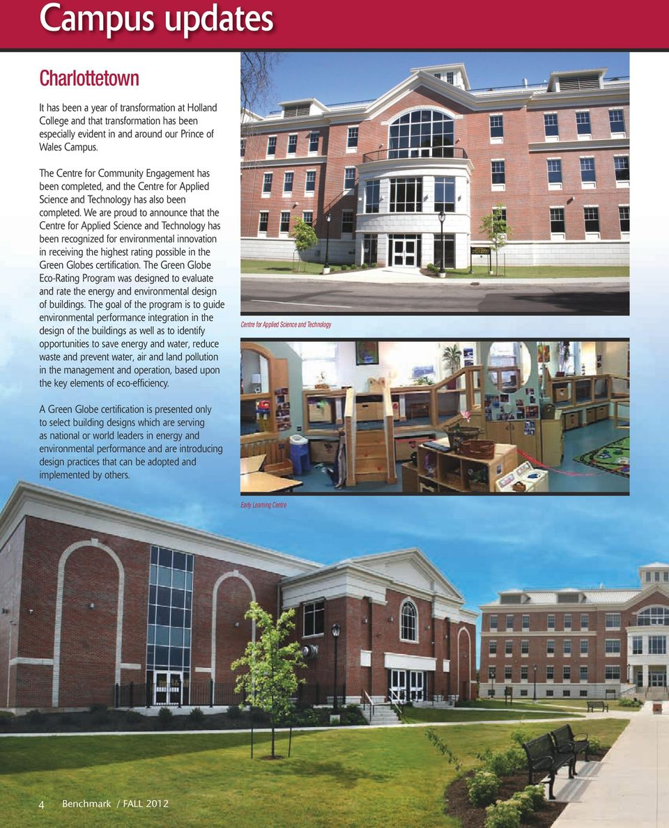 HOLLAND COLLEGE FOUNDATION MAGAZINE - PDF