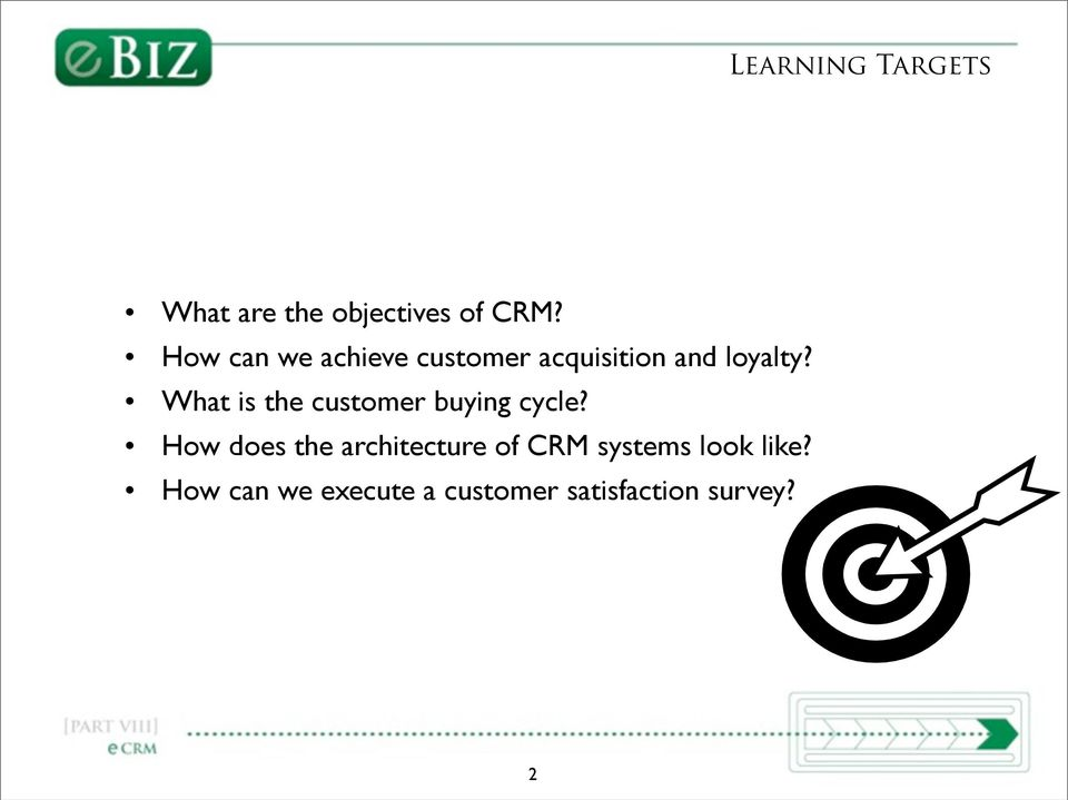 What is the customer buying cycle?