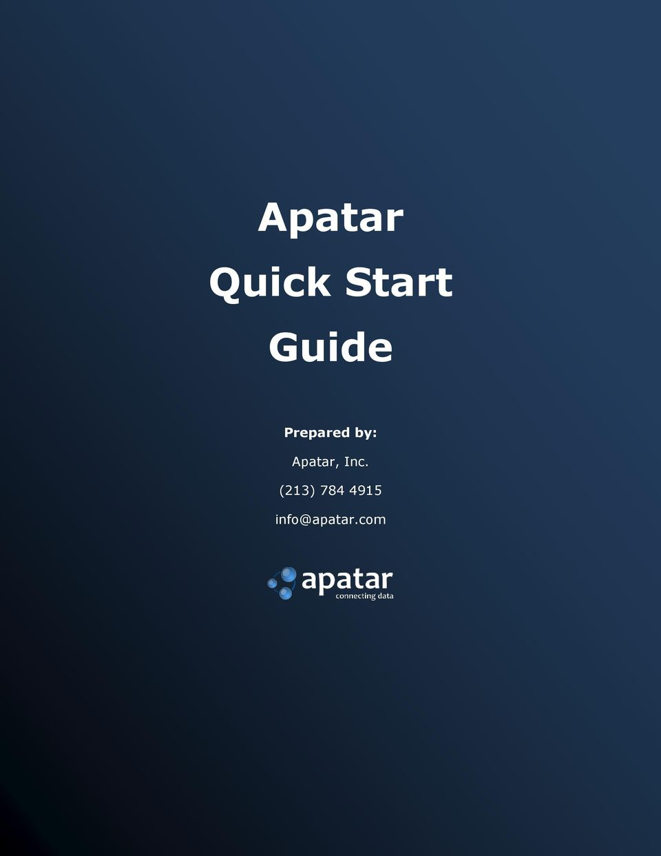 Guide Prepared by: Apatar,