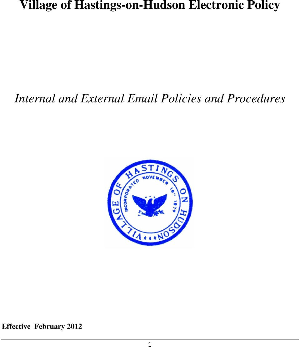 External Email Policies and