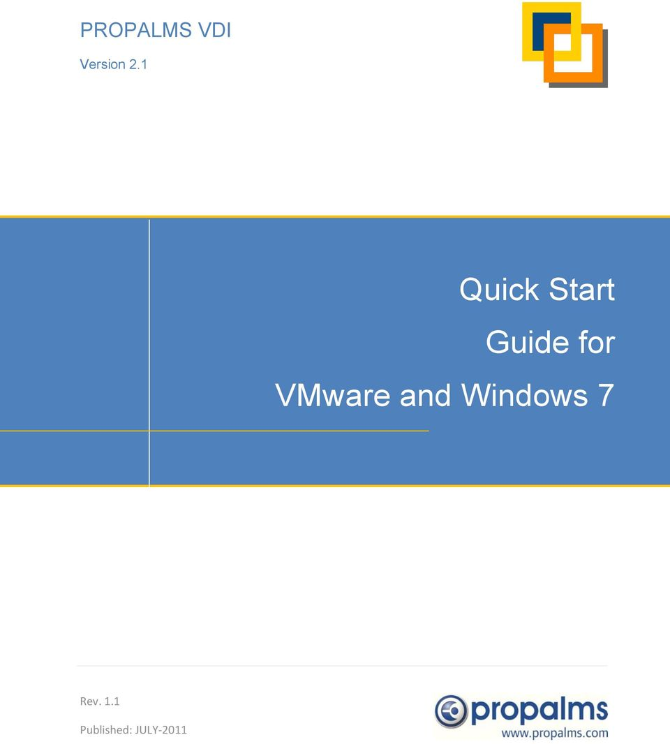 VMware and Windows 7 Rev.