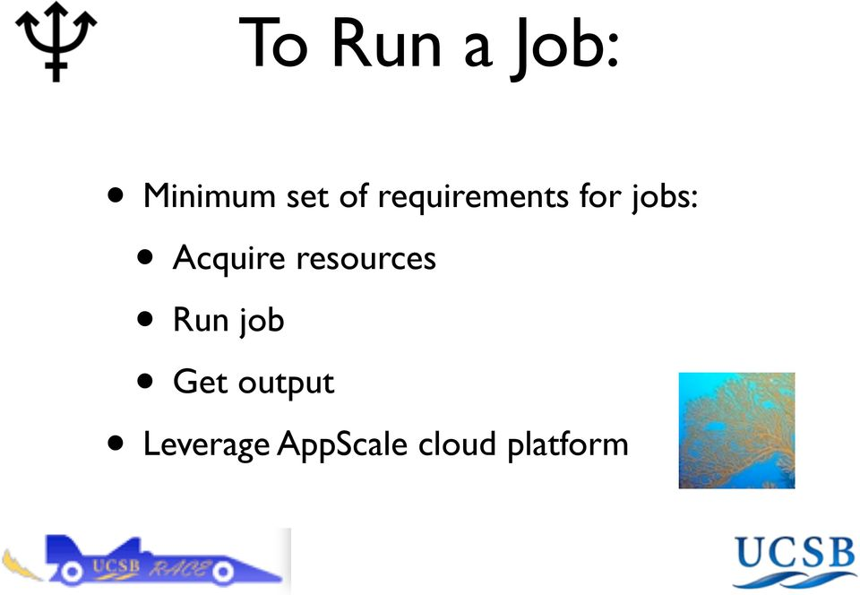 resources Run job Get output