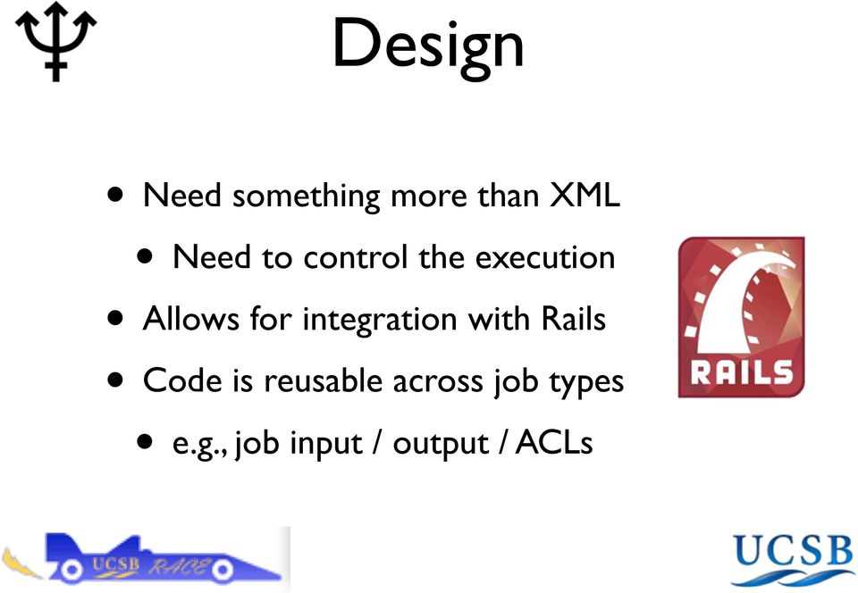 integration with Rails Code is reusable