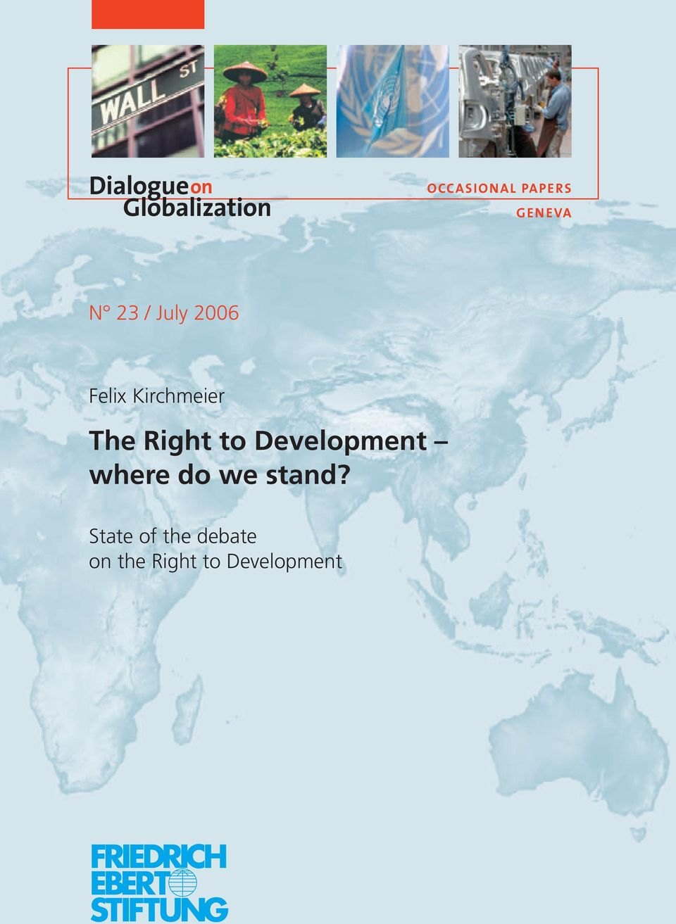 The Right to Development where do we stand?