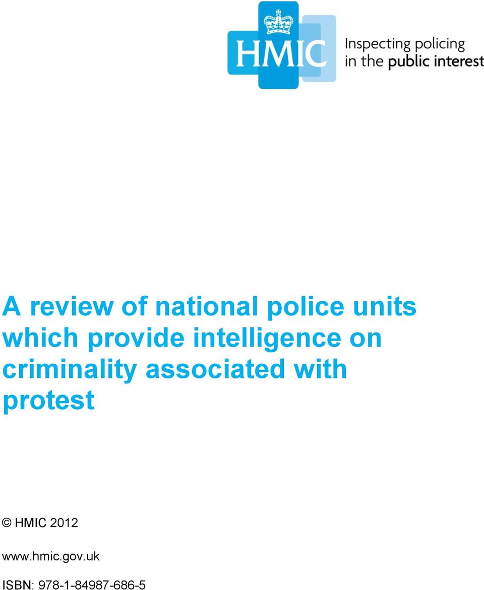 criminality associated with protest