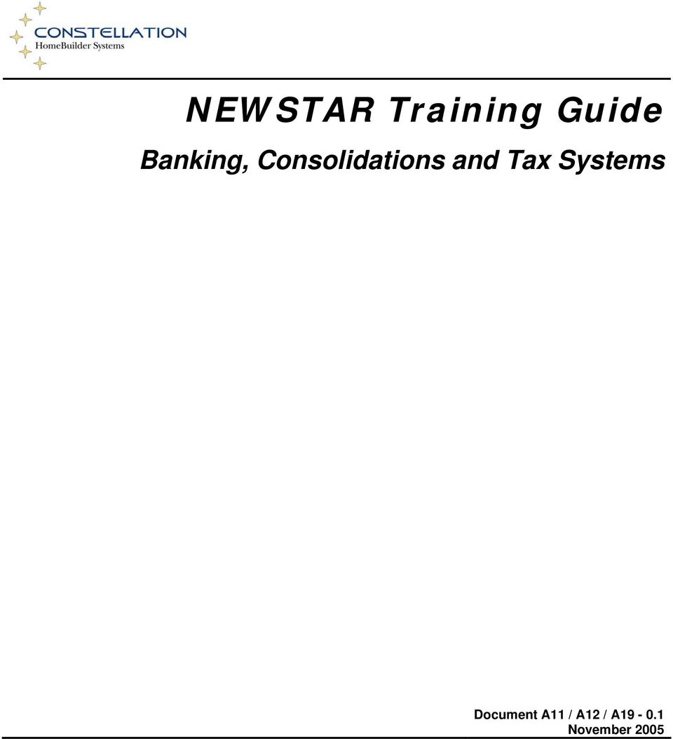 and Tax Systems Document