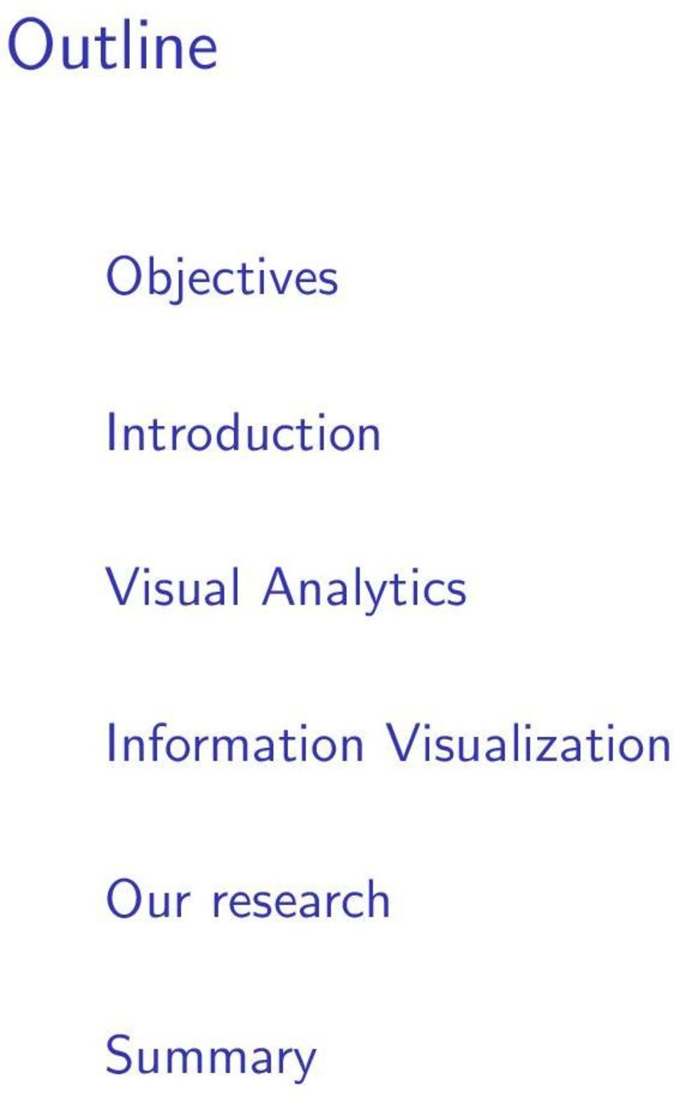 Analytics Information