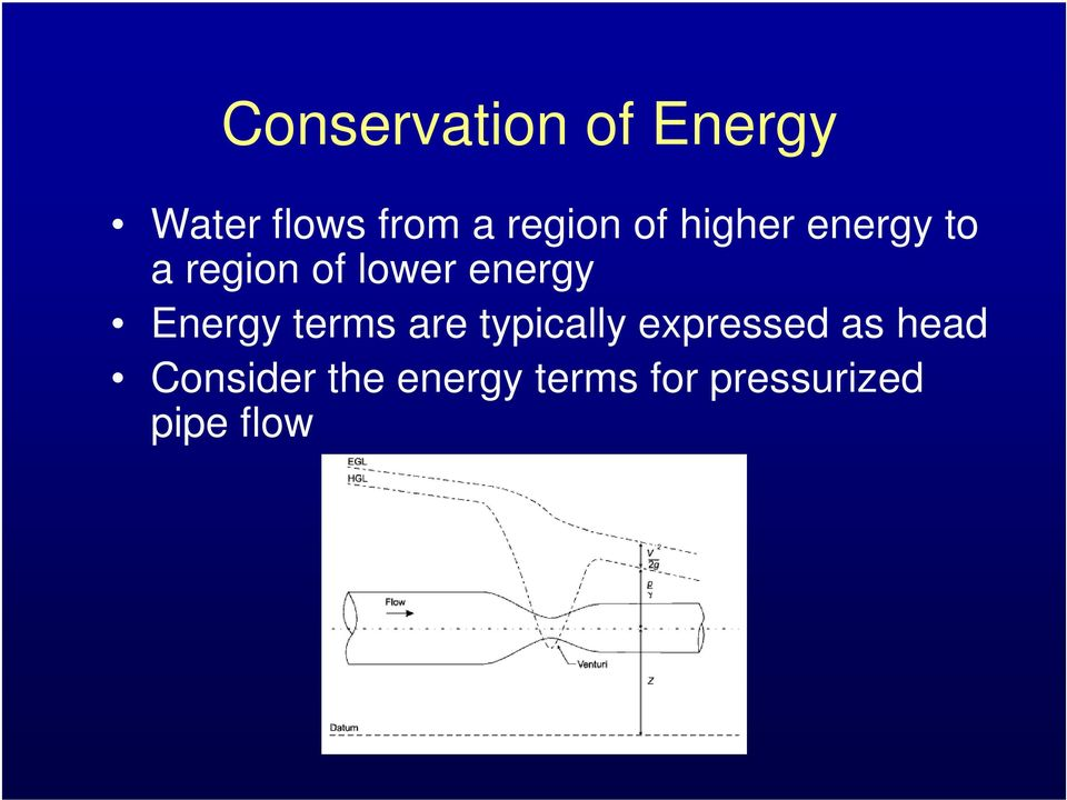 energy Energy terms are typically expressed as