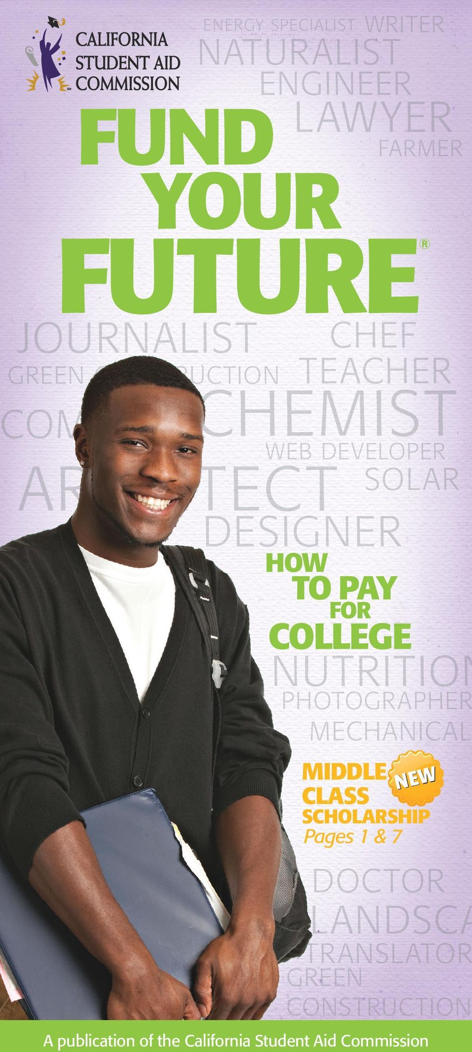DESIGNER HOW TO PAY FOR COLLEGE NUTRITION PHOTOGRAPHER MECHANICAL MIDDLE N EW CLASS SCHOLARSHIP