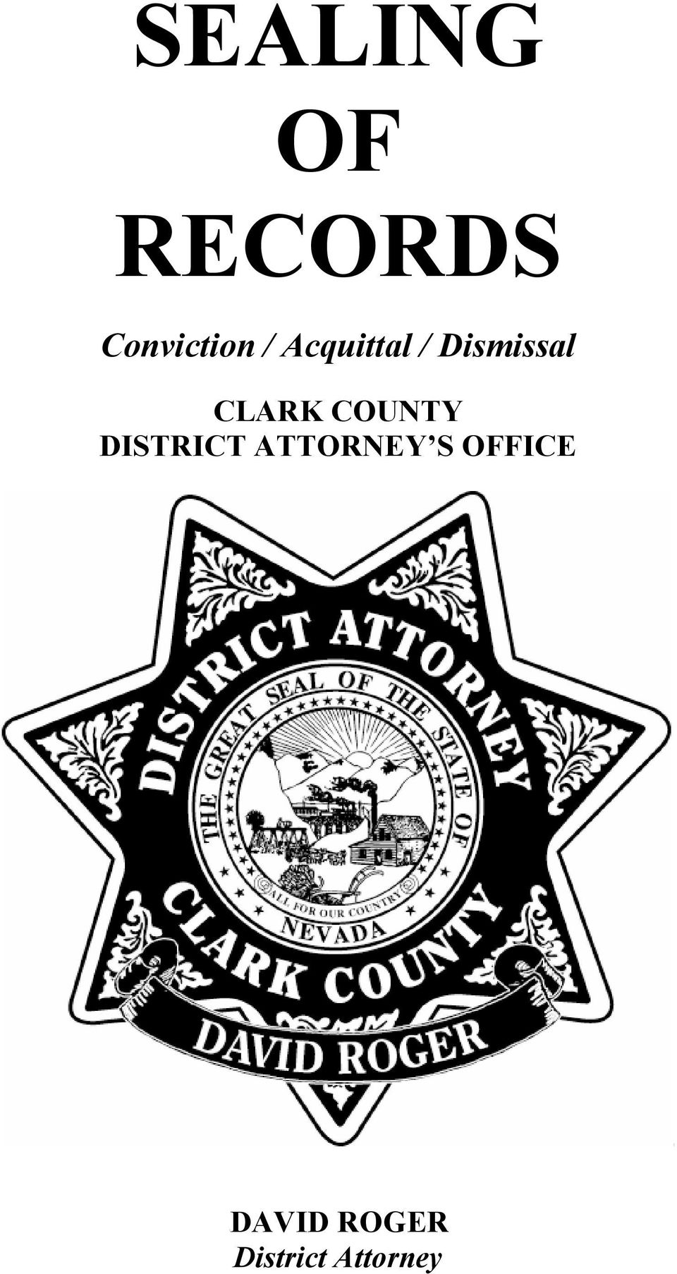 COUNTY DISTRICT ATTORNEY S