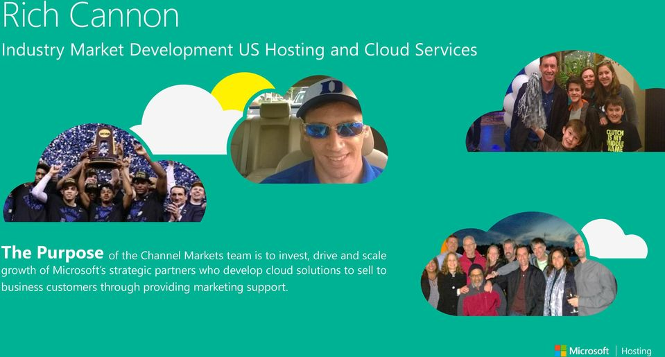 growth of Microsoft s strategic partners who develop cloud