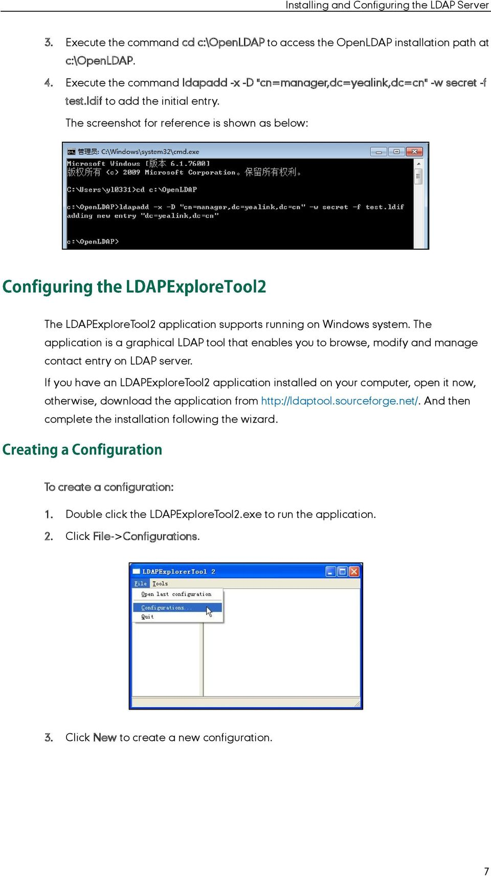 The application is a graphical LDAP tool that enables you to browse, modify and manage contact entry on LDAP server.