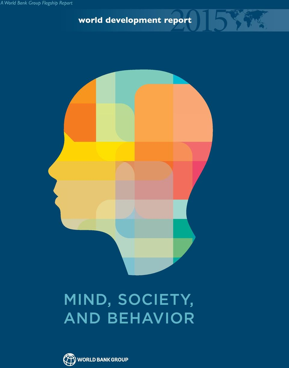 development report world development report MIND, SOCIETY,