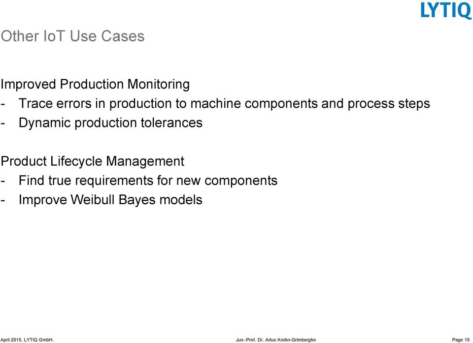 production tolerances Product Lifecycle Management - Find true