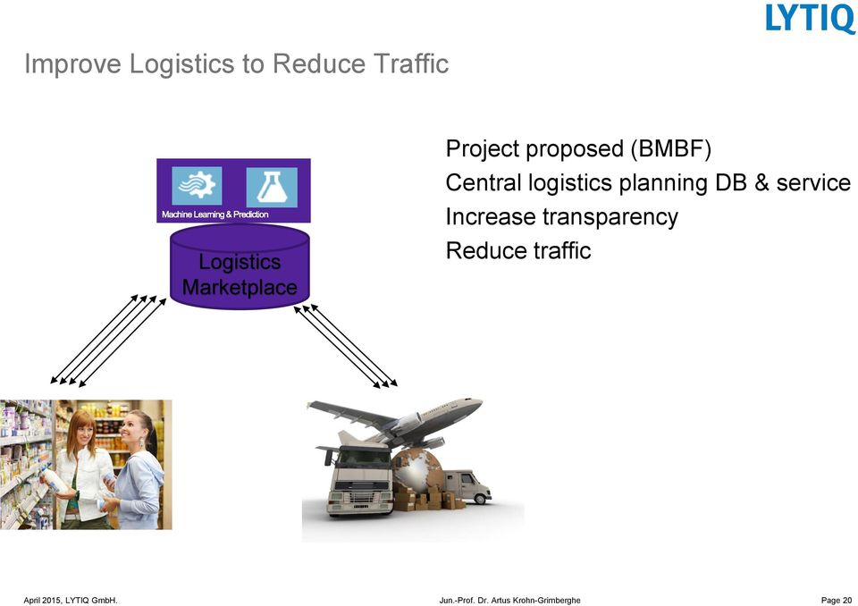 (BMBF) Central logistics planning DB &