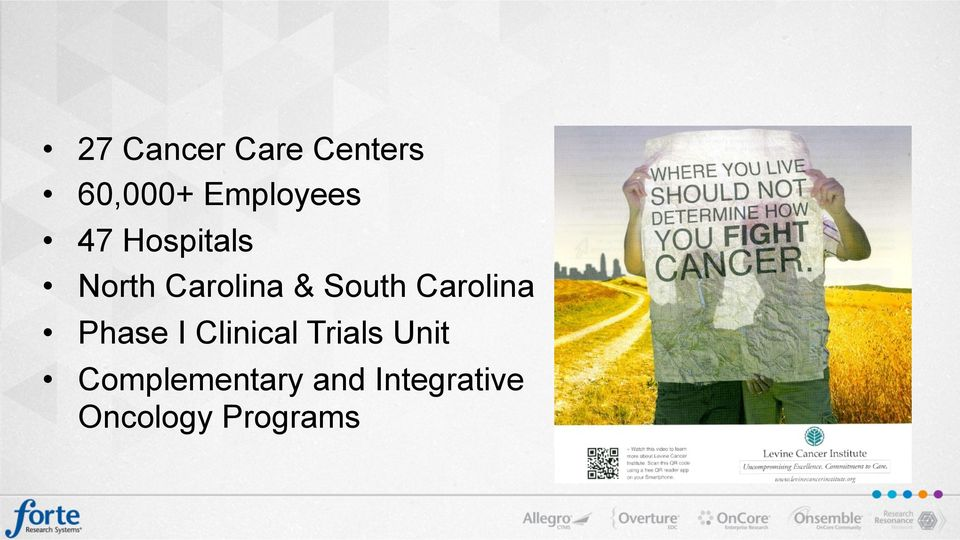 Carolina Phase I Clinical Trials Unit