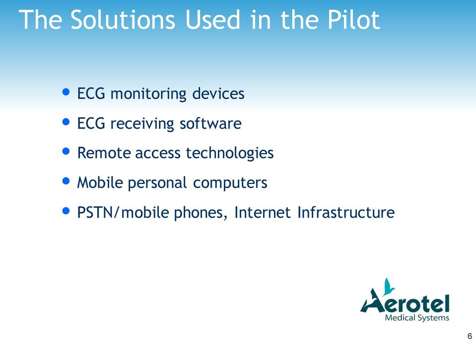 Remote access technologies Mobile personal