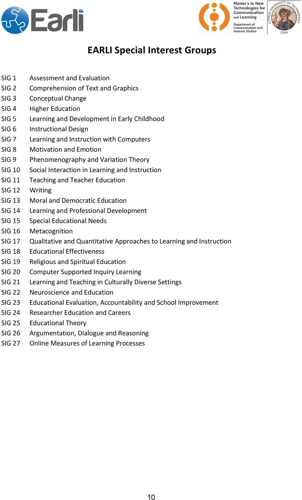 with Computers Motivation and Emotion Phenomenography and Variation Theory Social Interaction in Learning and Instruction Teaching and Teacher Education Writing Moral and Democratic Education