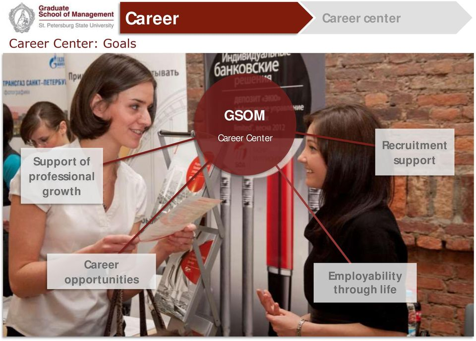 GSOM Career Center Recruitment support