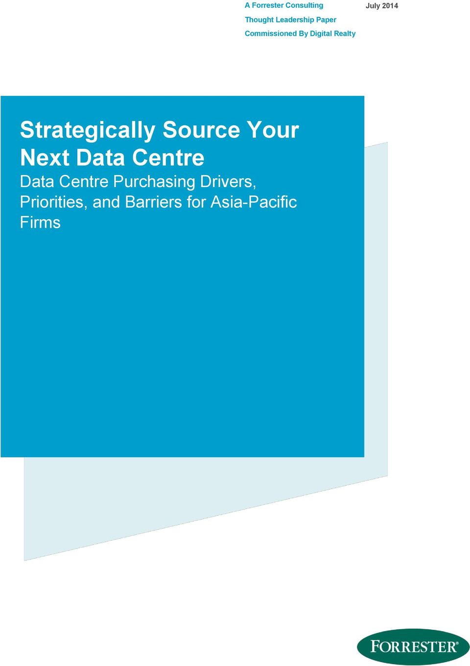 Strategically Source Your Next Data Centre Data