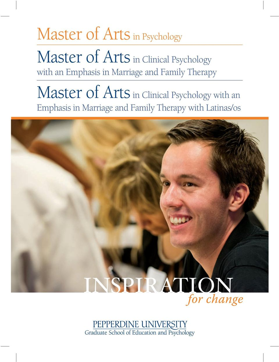 Therapy Master of Arts in Clinical  Therapy with